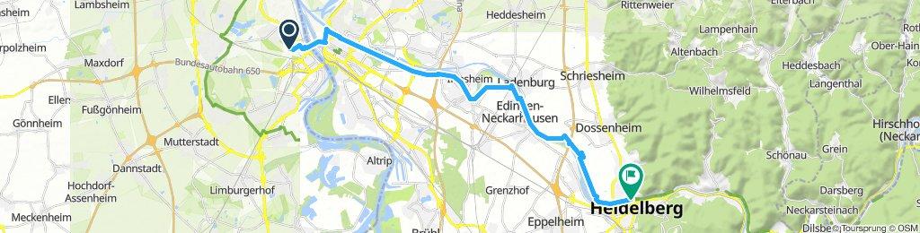 Ludwigshafen - Heidelberg