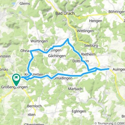 Rundtour Engstingen - Münsingen