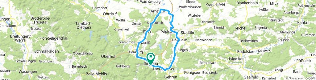 2019-04-16: Ilmenau - Arnstadt