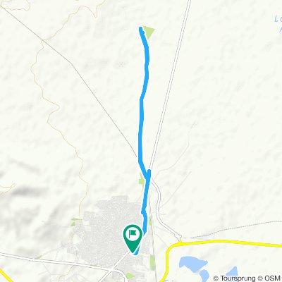 Ruta lenta en Villacañas
