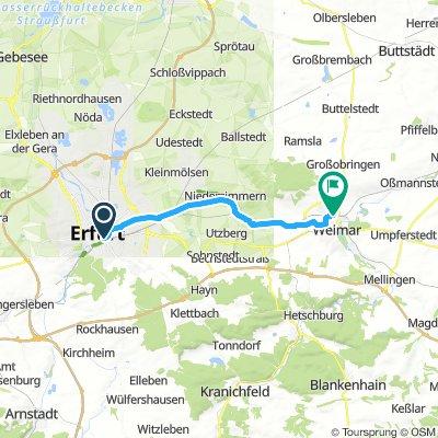 Erfurt - Weimar
