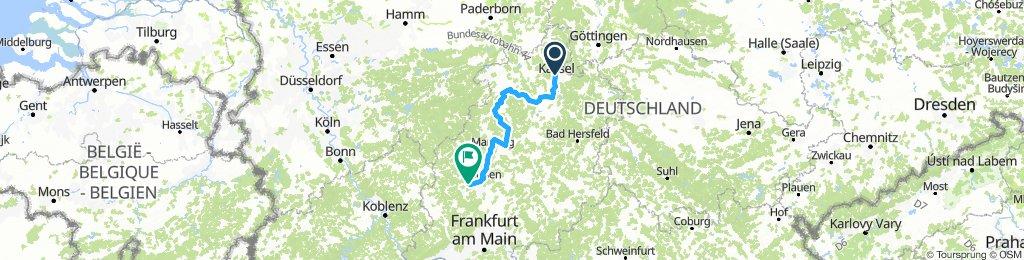 Etappe 4: Kassel über Marburg und Gießen nach Wetzlar