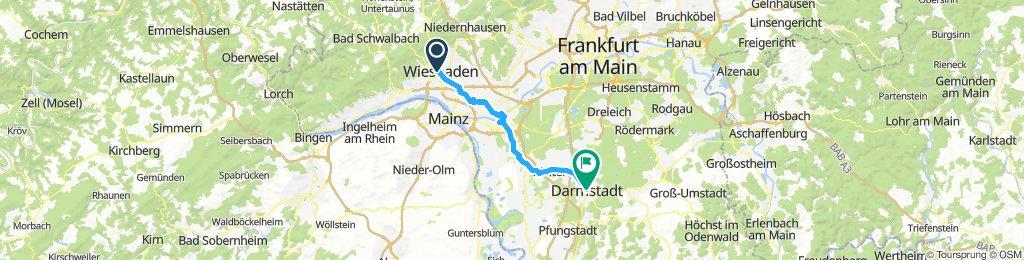 Etappe 6: Wiesbaden nach Darmstadt
