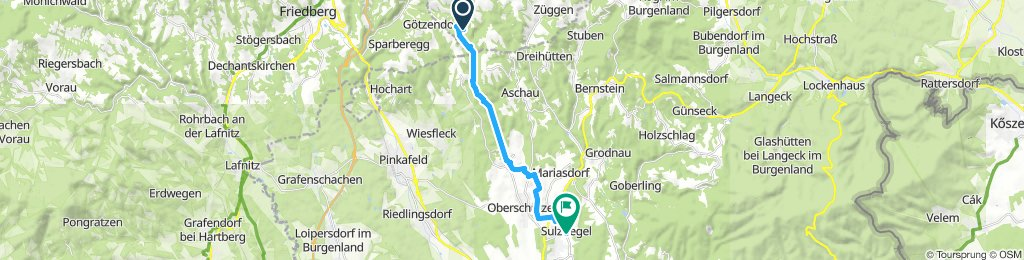 Moderate Route in Sulzriegel