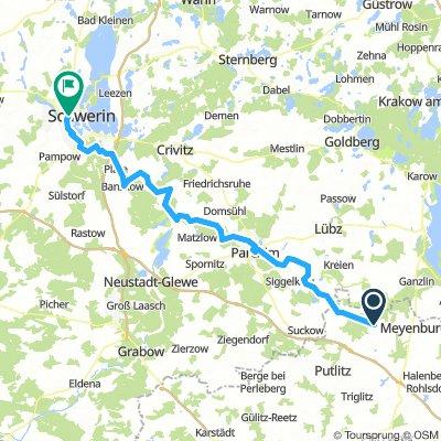 Stepenitz-Schwerin  / 6.Tag von 6 Tagen