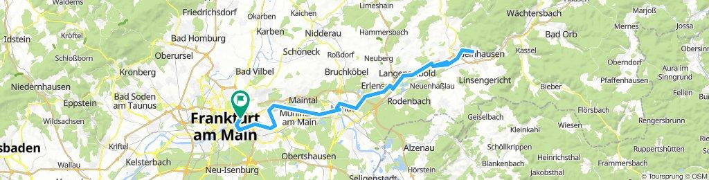 101 KM Gelnhausen über Kinzigsee