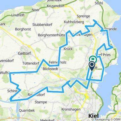 5 Dörfer Eck ?(Altenholz Radfahrer ?? der BM......