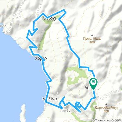 Lafkos Cycling Round Trip