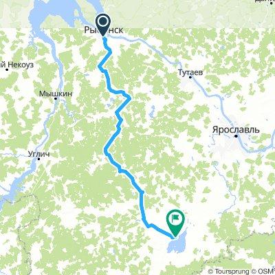 Рыбинск-Ростов Великий 2 дня(с палаткой)