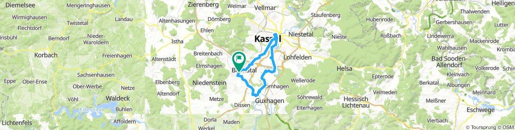 Baunatal - Kassel - Baunatal
