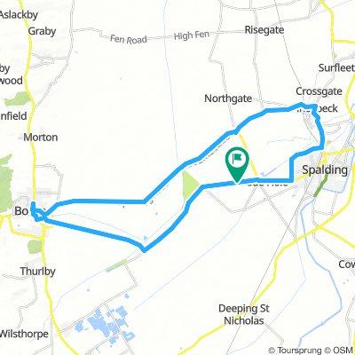 Spalding - Bourne (Return) - 40km