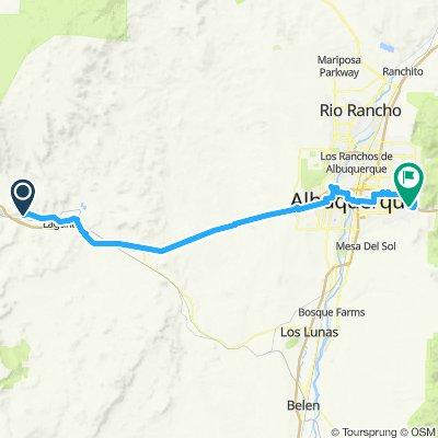 day 17 to Albuquerque