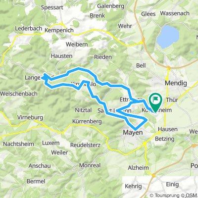 Eifelroute 1 (40 km 650 hm)