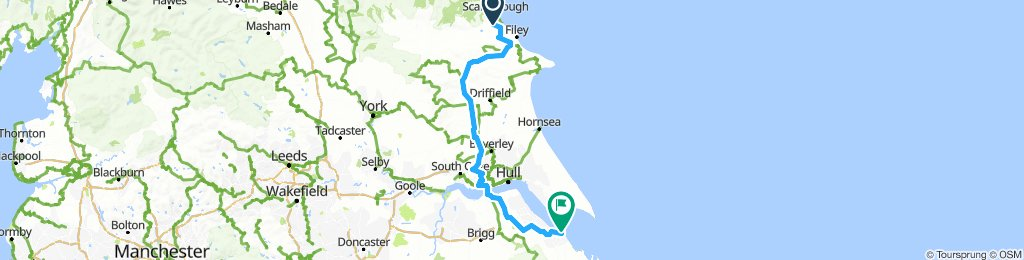 Scarborough to Blundell Park in aid of Bloodwise
