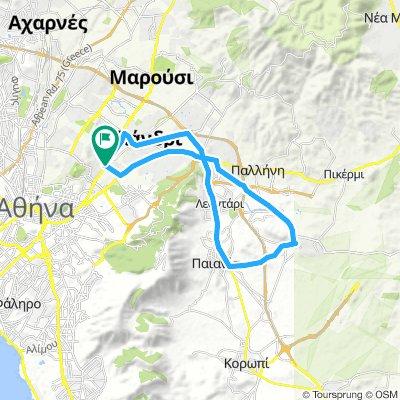 ΨΥΧΙΚΟ-ΜΕΣΟΓΕΙΑ 34km