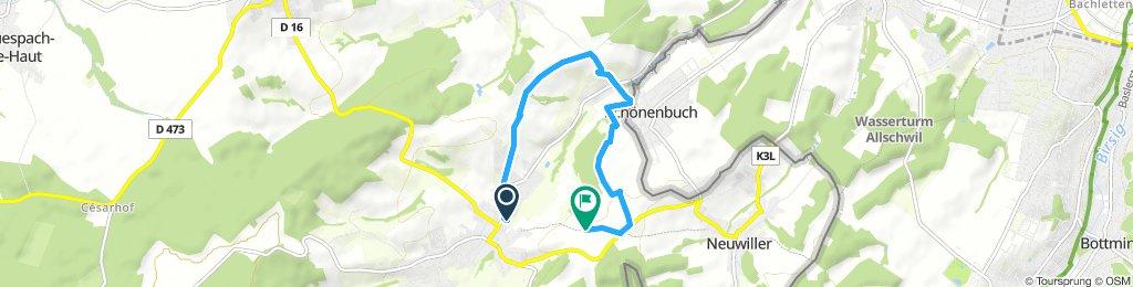 Easy ride in Hagenthal-le-Bas