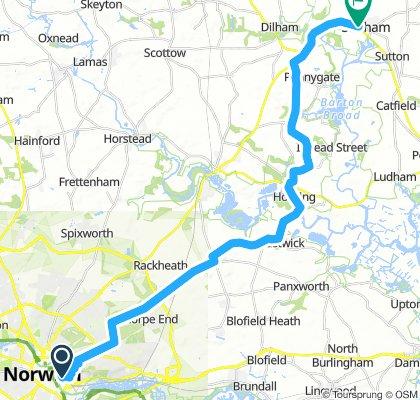 Day 1:Norwich to Stalham