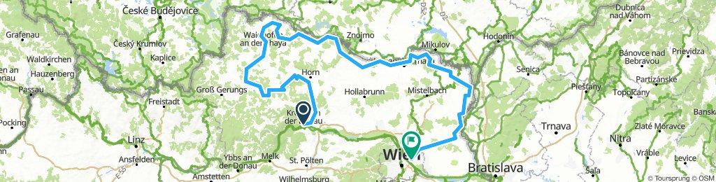 KTM Kamp-Thaya-March-Radroute