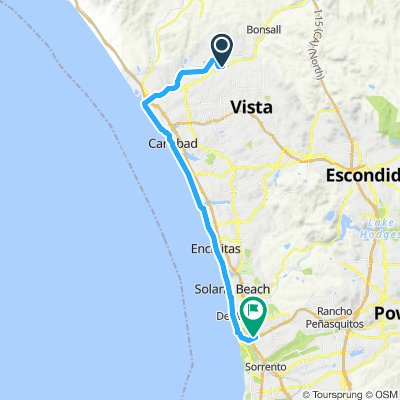 Joe's Bike to Work Route
