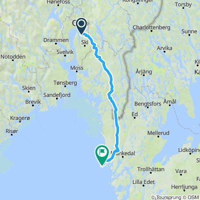 Indre rute til Smögen