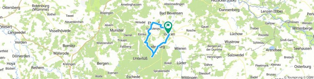 Rundtour Uelzen - Hösseringen - Ebstorf - Uelzen