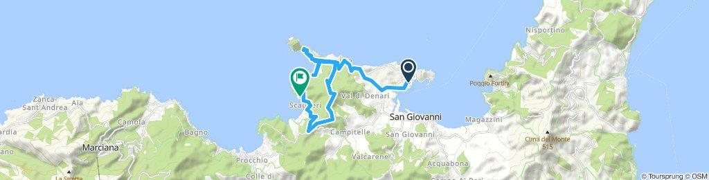 Itinéraire modéré en Scaglieri