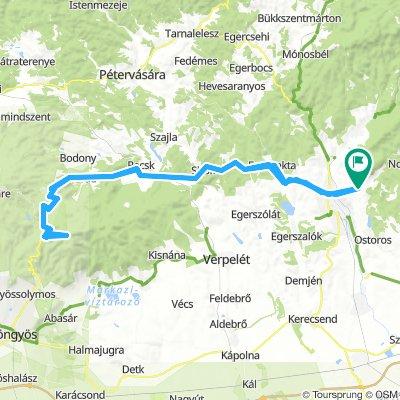 Eger-Kékestető-Eger