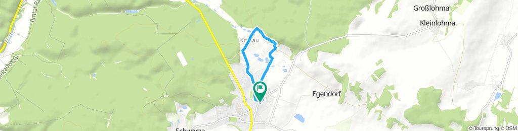 Gemütliche Route in Blankenhain