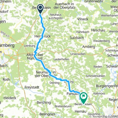 Main-Donau-Weg  - Jura-Linie