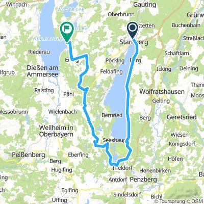 Starnberg - Osterseen - Andechs - Herrsching
