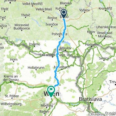 Brno-Wiedeń