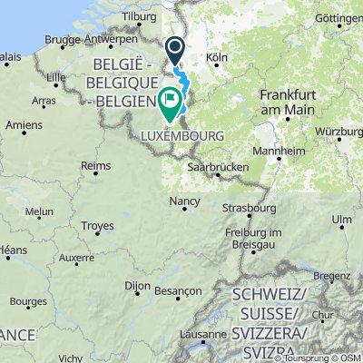Groene weg MidZee Maastricht-Marnay
