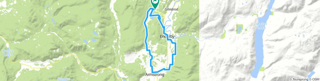 Deep Creek/Enderby/Armstrong loop
