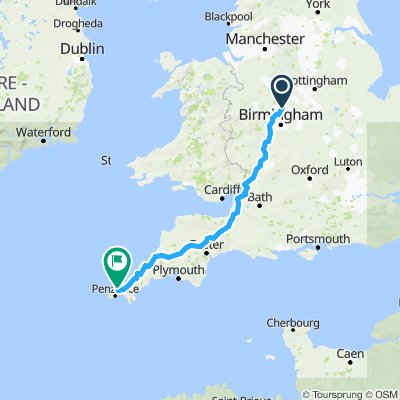 Lichfield to St Ives - Option 2