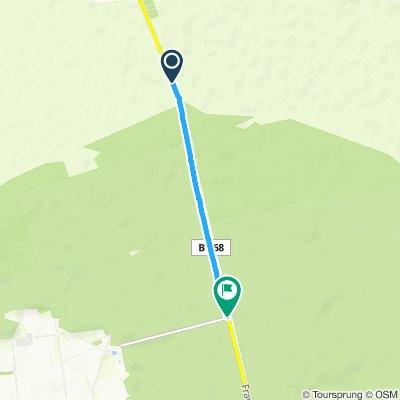 Gemütliche Route in Turnow-Preilack