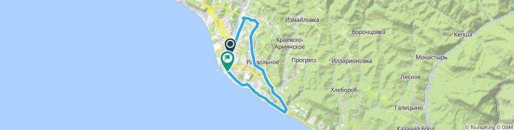 Slow ride in Sochi