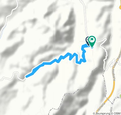 Easy ride in Huixquilucan-Santiago