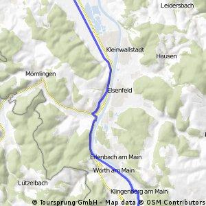 Camping-Richtung Ostheim