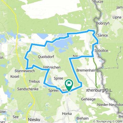 Wolfsradweg 2 (Start Uhsmannsdorf)