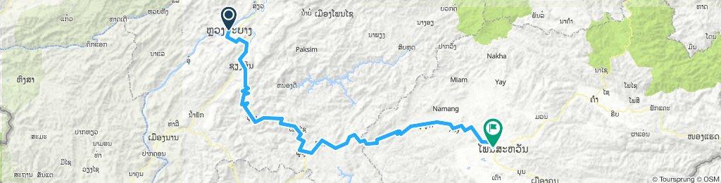 Luang Prabang to Phonsavan