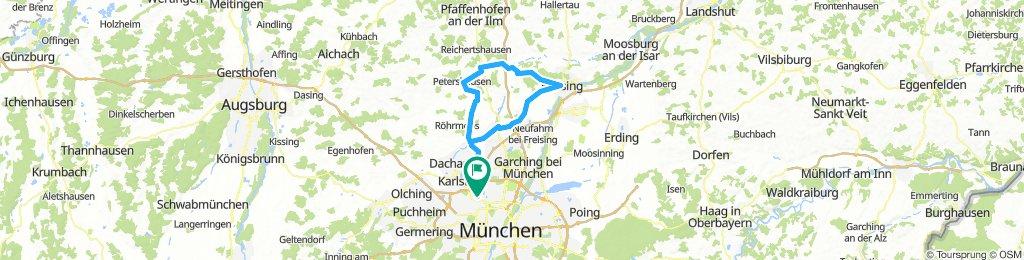 An der Glonn nach Freising