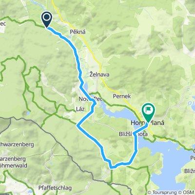 4 Zusammenfluss Schwarzenbersky Horni