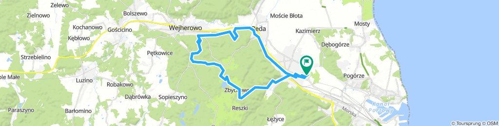 POLAND: Rumia - Reda - Wejherowo - Zbychowo - Rumia