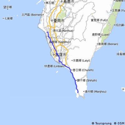 cycle around Taiwan, D4