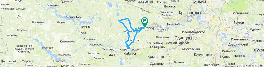 Звенигород-Волково-Звенигород