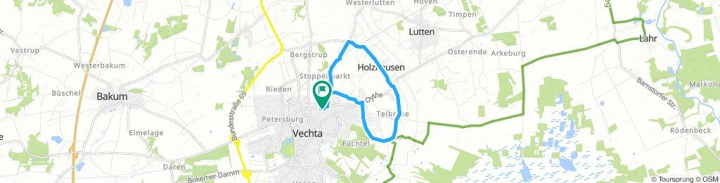 Langsame Fahrt in Vechta