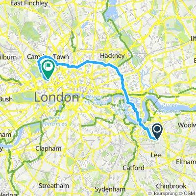 Bxl - Londres J6 : MATIN