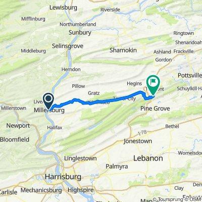 D. Millersburg to Echo Valley