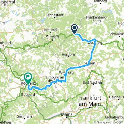 Lahn bis Koblenz
