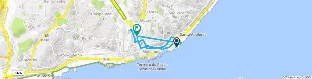 Lissabon zu Fuß